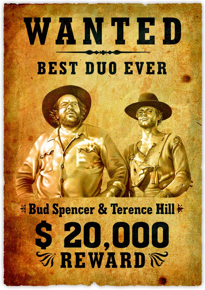 Bud Spencer & Terence Hill The best comedic duo ever