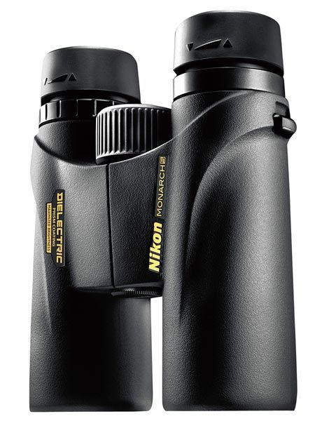 Nikon Monarch 5 10x42 Binoculars, $300 (on my dream list but I began birding with a $30 pair)