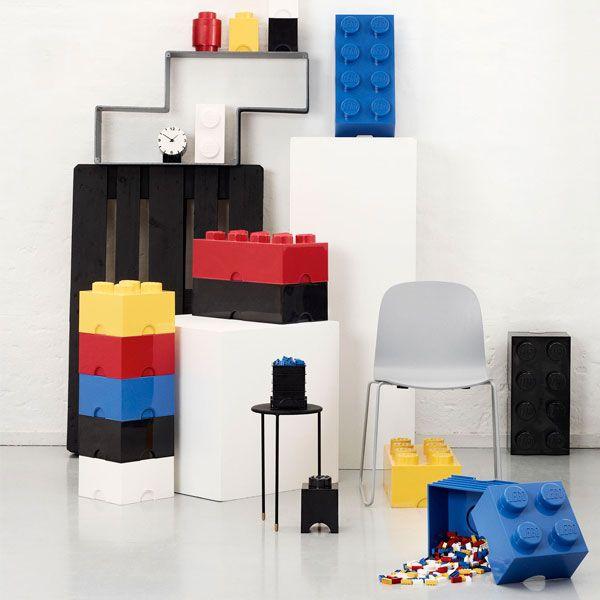 Room Copenhagen Lego Storage Brick 8, black | Storage | Decoration | Finnish Design Shop