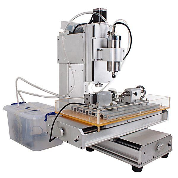 มินิ CNC งานหนัก Heavy dutyNEW MINI HY-3040 4 axis COMPUTER CONTROLLED-CNC Heavy duty-3040 4 axis CNC aluninum router machine for drilling, milling fr...