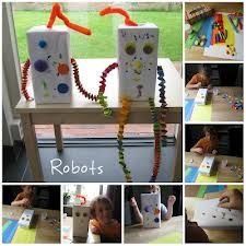 robot knutselen - Google zoeken
