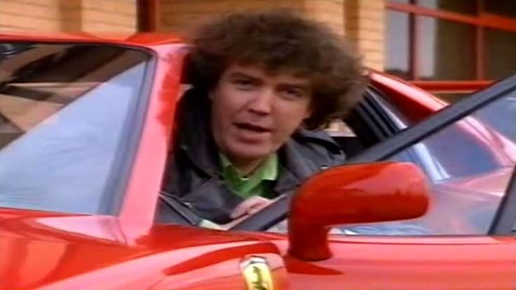 Watch Jeremy Clarkson Review a 1991 Ferrari 348 In This Radically Retro Clip
