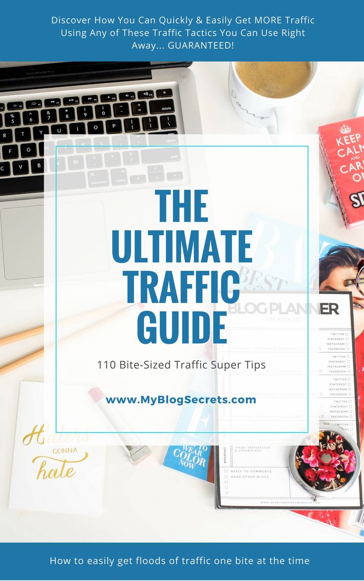 "Free #Giveaway!!!  Discover How You Can Quickly & Easily Get MORE Traffic Using Any of These 110 'Bite-Sized' Traffic Tactics You Can Use Right Now... GUARANTEED!  Follow these steps:  ❥ Follow  ❥ Comment below this pin  ❥ Get your FREE copy of ""The Ultimate Traffic Guide"" (click the photo)"