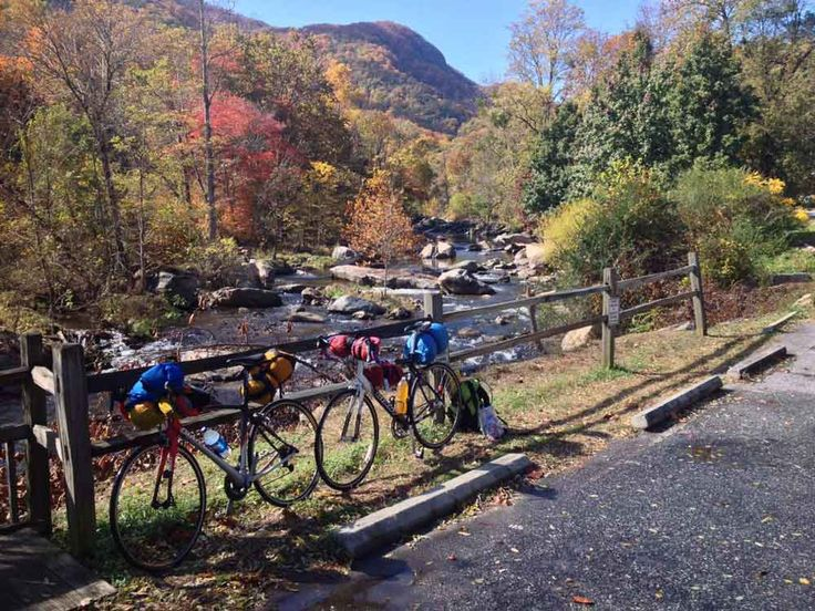 Ultralight minimalist bike touring from Asheville to Greenville, North Carolina