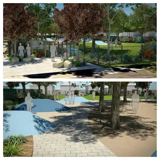 Dog park concept. Collaboration between Balancing Act Adelaide, Aspect Studios & Adelaide Brighton Cement, South Australia, 2014.