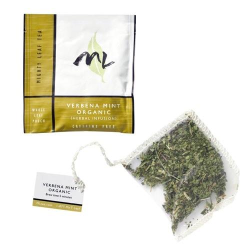 Mighty Leaf Verbena Mint Organic tea. Delish!