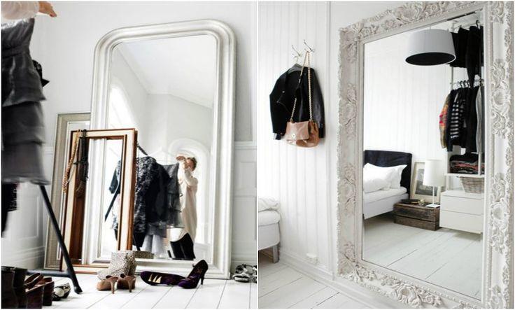 Vamos Encostar o Espelho no Chão ?   Click Interiores