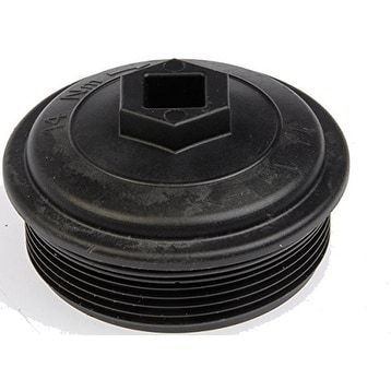 Dorman 904-209 Diesel Fuel Filter Cap - Black