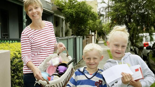 PEOPLE'S integrity will be put to the test with one household hosting a garage sale and inviting buyers to anonymously put what they think an item is worth in an envelope and walk away with the goods.