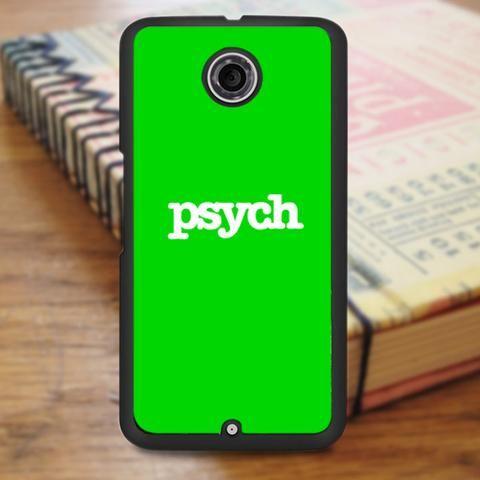 Psych Logo Nexus 6 Case