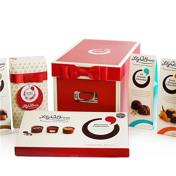 Chocolate Shoe Box Hamper, 6 Collections, 843g FLOB8118SR