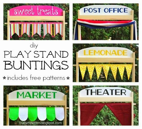 """""""P"""" is for Play Stand Buntings"""