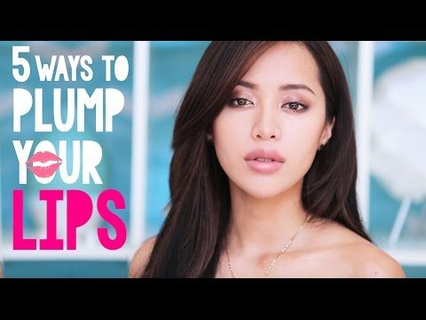 5 Ways to PLUMP Your LIPS! - YouTube.... WORKS SO WELL!!!