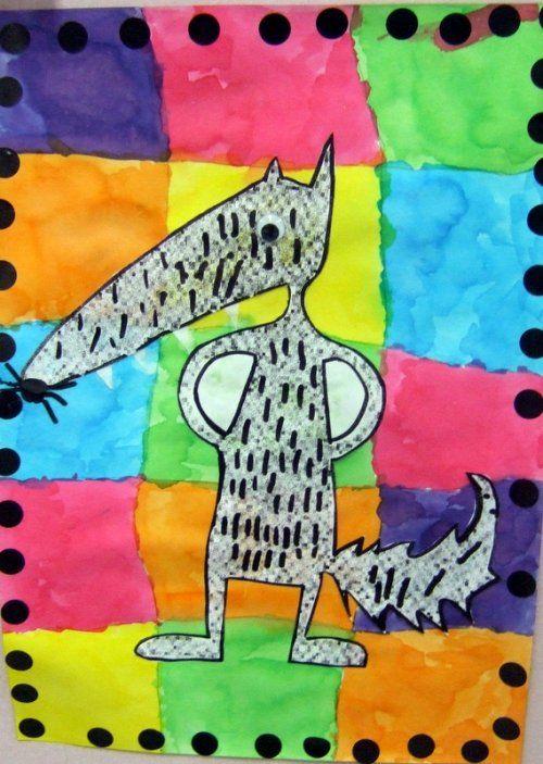 Le loup qui voulait changer de couleur - Webécoles - Circonscription de Fontaine-Vercors