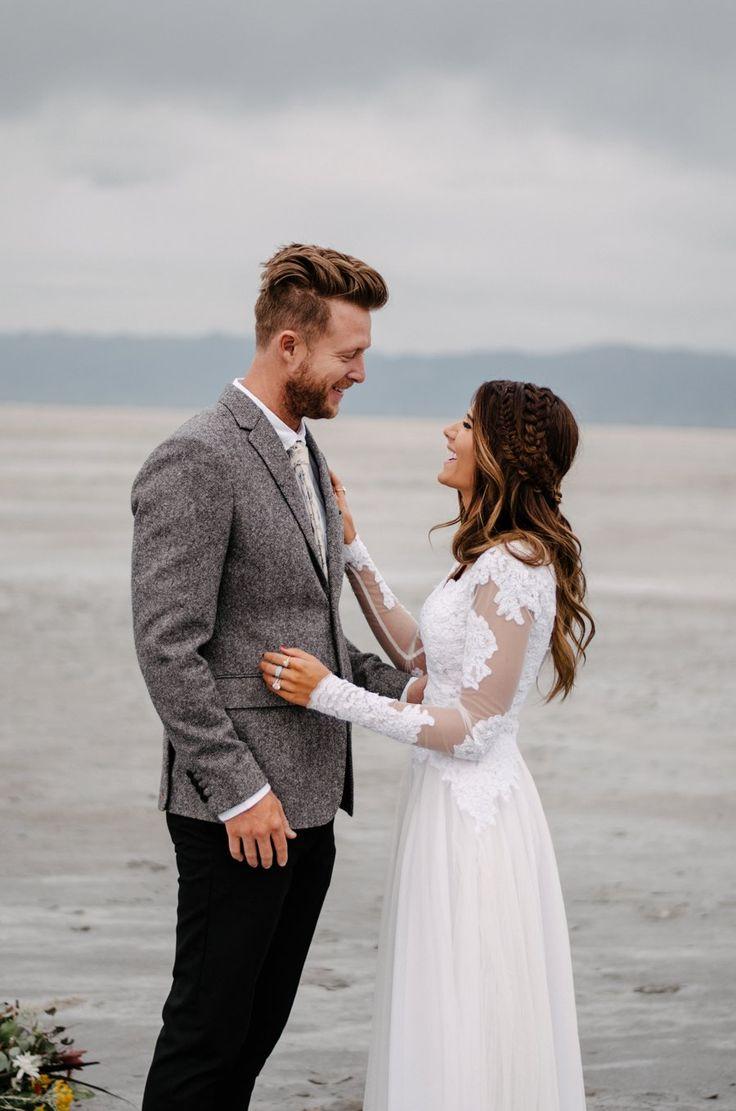 Demi + Blake | Salt flats wedding engagements, utah engagement ideas, wedding dress ideas, indie wedding photographer