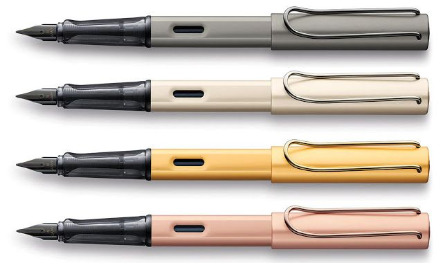 Look what's new from Lamy fountain pens! Read this  Sneak Peek on the Lamy LX and Lamy 2000 LE, coming Fall 2016.