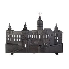 Tre Kronor castle firescreen by Sweden's Prince Carl Philip. Love it! Some day I'll have a fireplace... Svensk Tenn