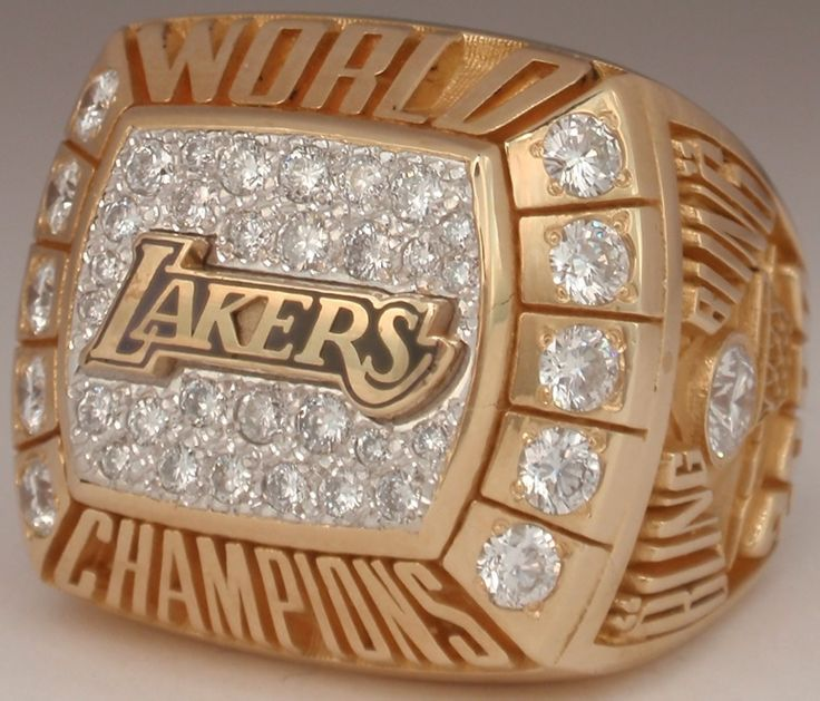 2000 NBA Championship Ring - Lakers