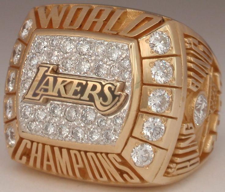 2000 NBA Championship Ring - Lakers