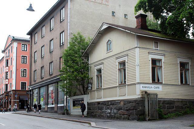 Kahvila Oskari palvelee Lahden ydinkeskustassa, kodikkaassa ja tunnelmallisessa vuonna 1900 rakennetussa puutalossa. #lahti #finland