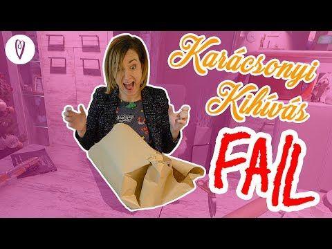 (217) Karácsonyi Kihívás FAIL! 10 ajándékcsomag 10 perc alatt?   INSPIRÁCIÓK Csorba Anitától - YouTube