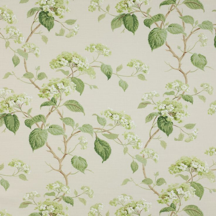 Colefax and Flower Leaf Green Summerby:  curtains for our room or the guest room?