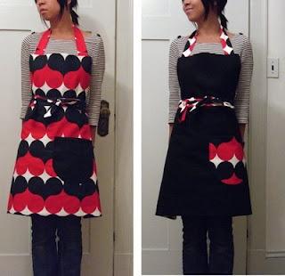 Reversible apron by Ladies  Gentlemen Studio