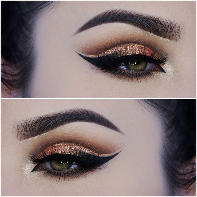 cut crease double wing.