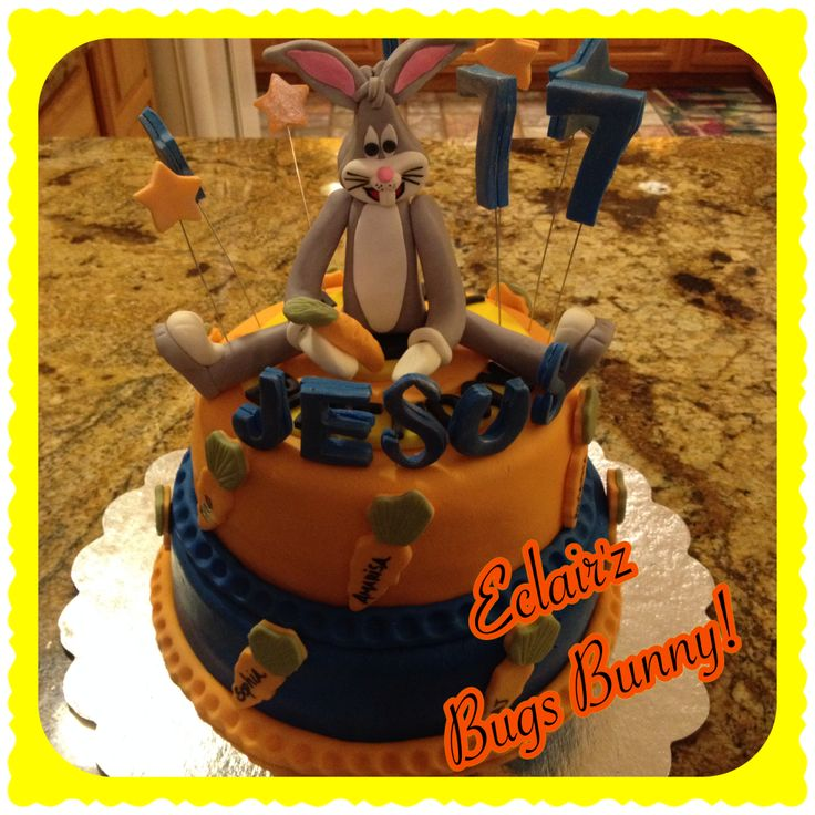 """What's Up Dock""...Bugs Bunny Birthday Cake by Eclair'z..."