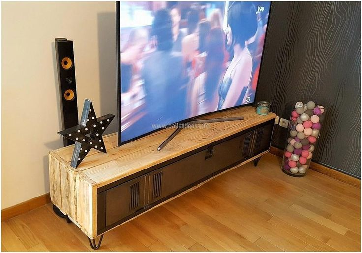 17 Best Ideas About Pallet Tv Stands On Pinterest