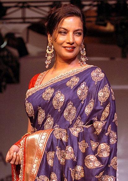 Shabana Azmi - Indian actress and campaigner