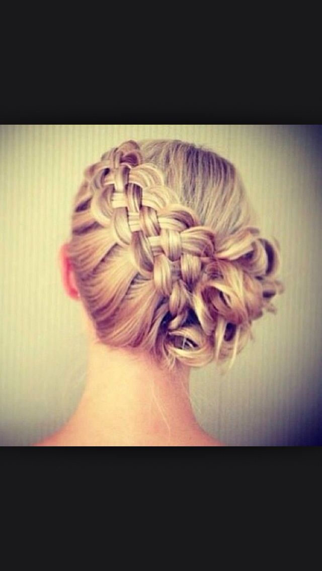 How To Do A Basket Weave Updo : Ideas about basket weave braid on