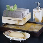 Horn bath accessories by Arca