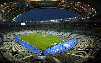 壁紙をダウンロードする euro2016年, サッカースタジアム, スタジアム, フランス-2016年, スタッド-ド-フランス, サンドニ, パリの, サッカー