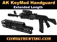 VMAKKME AK KeyMod Handguard - Extended Length - AK 47 Parts - AK 47 Accessories