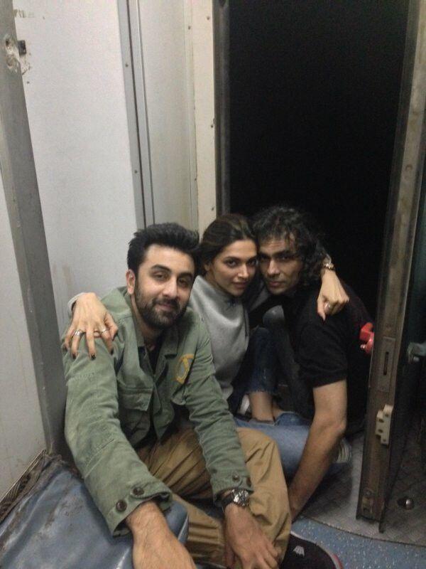 The Tamashgirs...Ranbir Kapoor,Deepika Padukone & Imtiaz Ali