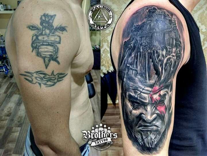 Tattoo Cuver Up by Ciucur Alexandru - FacenArta