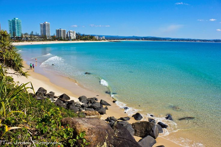 Coolangatta, Gold Coast, QLD (been here) beautiful beach and clean!