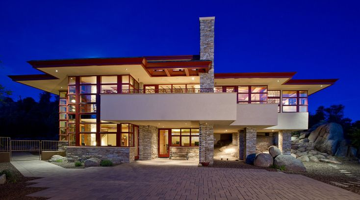 17 best images about homes art deco prairie style for Prescott architects