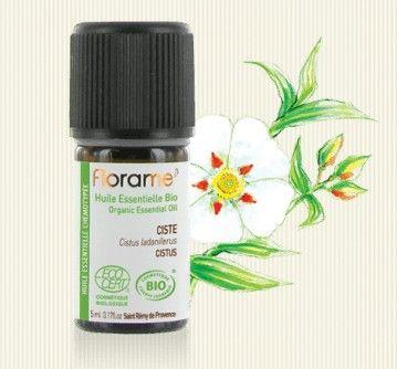 Huile essentielle Ciste bio Florame - Cistus ladaniferus - les-huiles-essentielles-bio