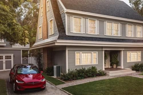 5/10/17 Tesla takes orders for solar roof tiles, reveals 'affordable' prices - UPI.com    A Tesla Solar Roof with 3,000 square feet would cost more than $65,000 if 35 percent of the tiles were solar, according to Business Insider. According to Consumer Reports, a slate-tile roof for a home the same size would cost about $45,000 and an asphalt roof roughly $20,000.