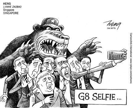 G8 selfie