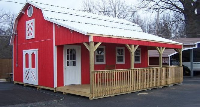 These Houses Actually Inexpensive Barn Sheds