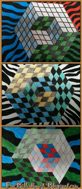 Lesson on Optical Illusion or Patterns