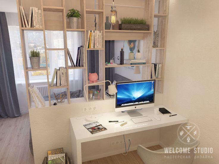 Однокомнатная квартира в ЖК «Подкова», г. Нижний Новгород | Welcome-studio