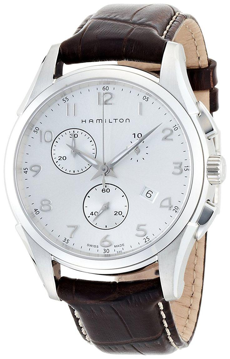 Amazon   [ハミルトン]HAMILTON Jazzmaster Thinline Chrono (ジャズマスター シンライン クロノ) シルバーダイアル H38612553 メンズ 【正規輸入品】   HAMILTON(ハミルトン)   腕時計 通販