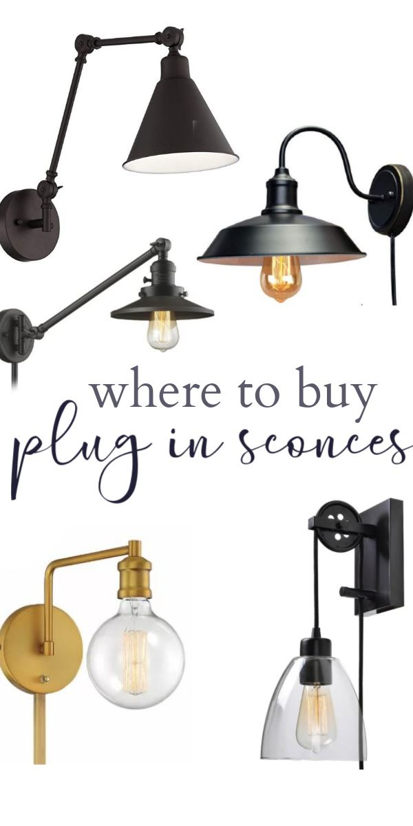 Where To Buy Plug In Wall Sconces Christina Maria Blog Plug In Wall Sconce Plug In Wall Lights Farmhouse Wall Sconces