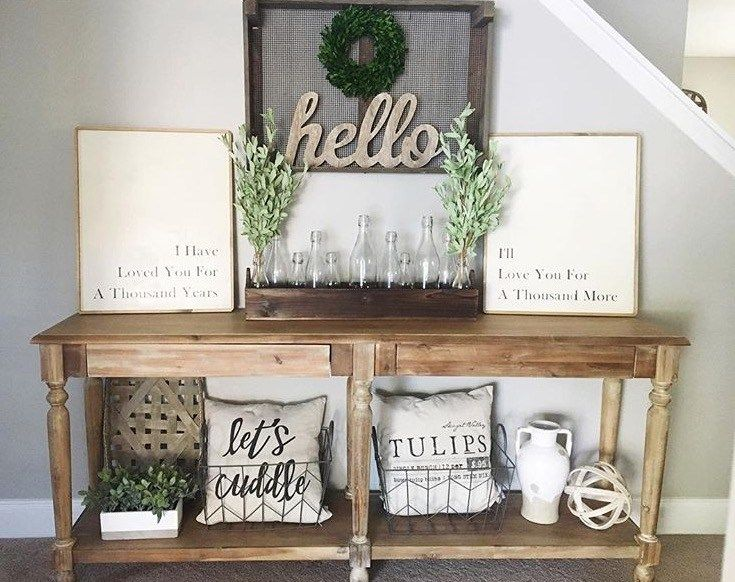 Farmhouse Foyer Uk : Best foyer bench ideas on pinterest entry