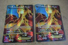 Pokemon Charizard EX Full Art Ultra Rare Lot of 2 Cards 100/106 Nice Condition!  get it http://ift.tt/2dMMOzF pokemon pokemon go ash pikachu squirtle