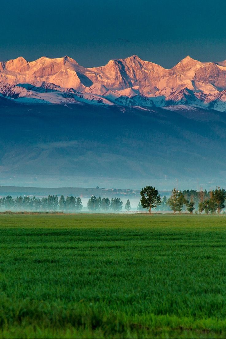 Tien Shan Mountains in Xinjiang by rui cheng Central Asia